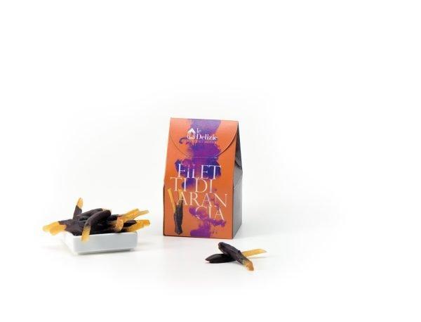 cioccolato cioccolatino filetti arancia