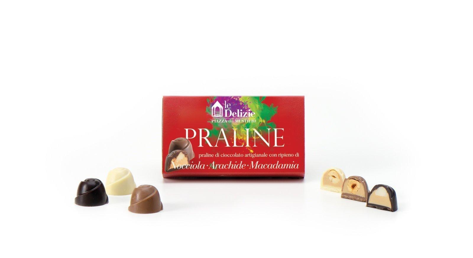 chocolate chotolates praline hazelnut peanut macadamia