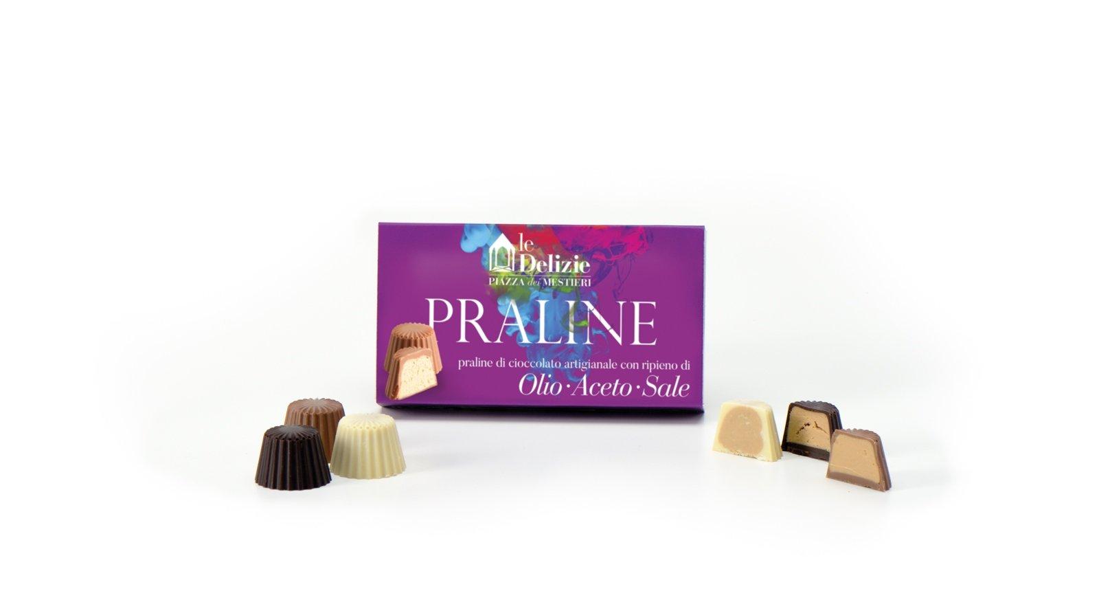 aceto olio sale cioccolato cioccolatini praline