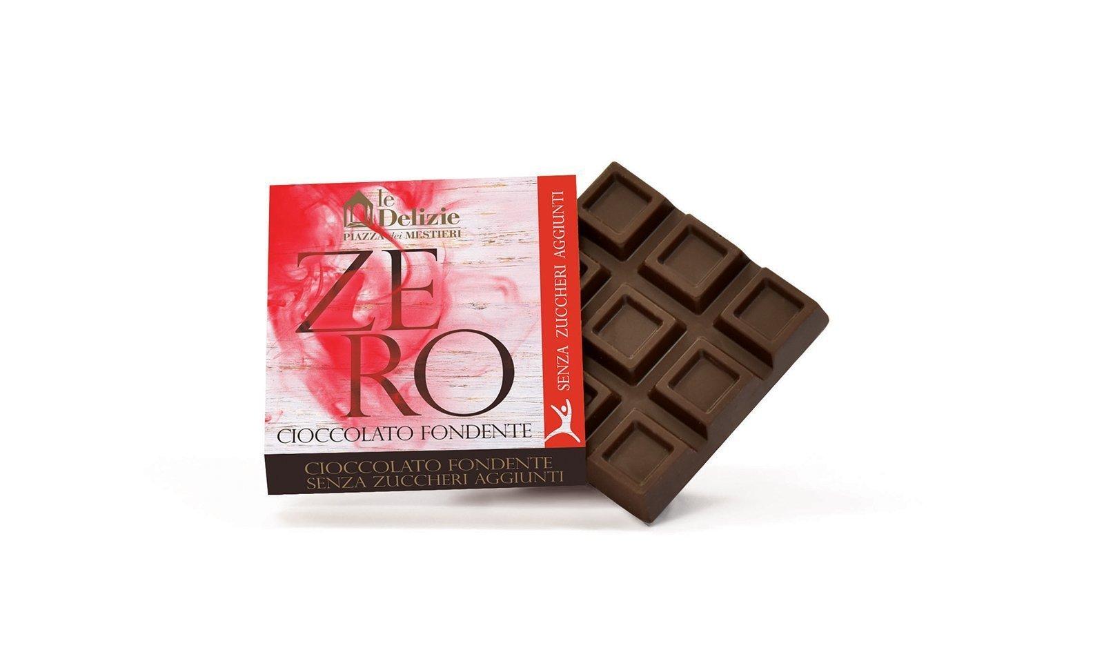 cioccolato cioccolatini fondente zero