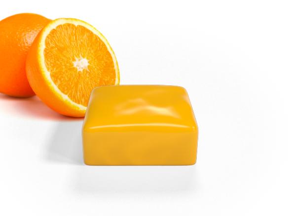 mappa cioccolato arancia