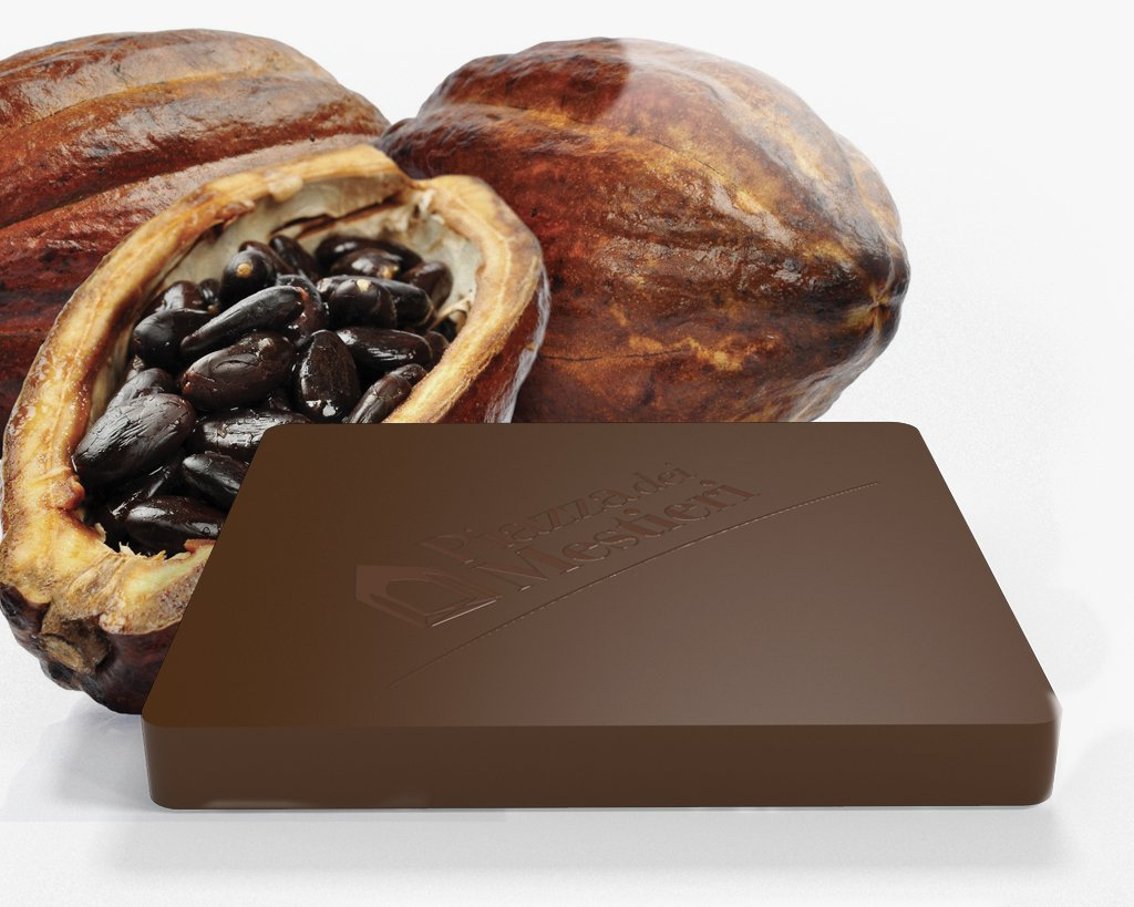 Blend di cacao cru latte cioccolato pralina