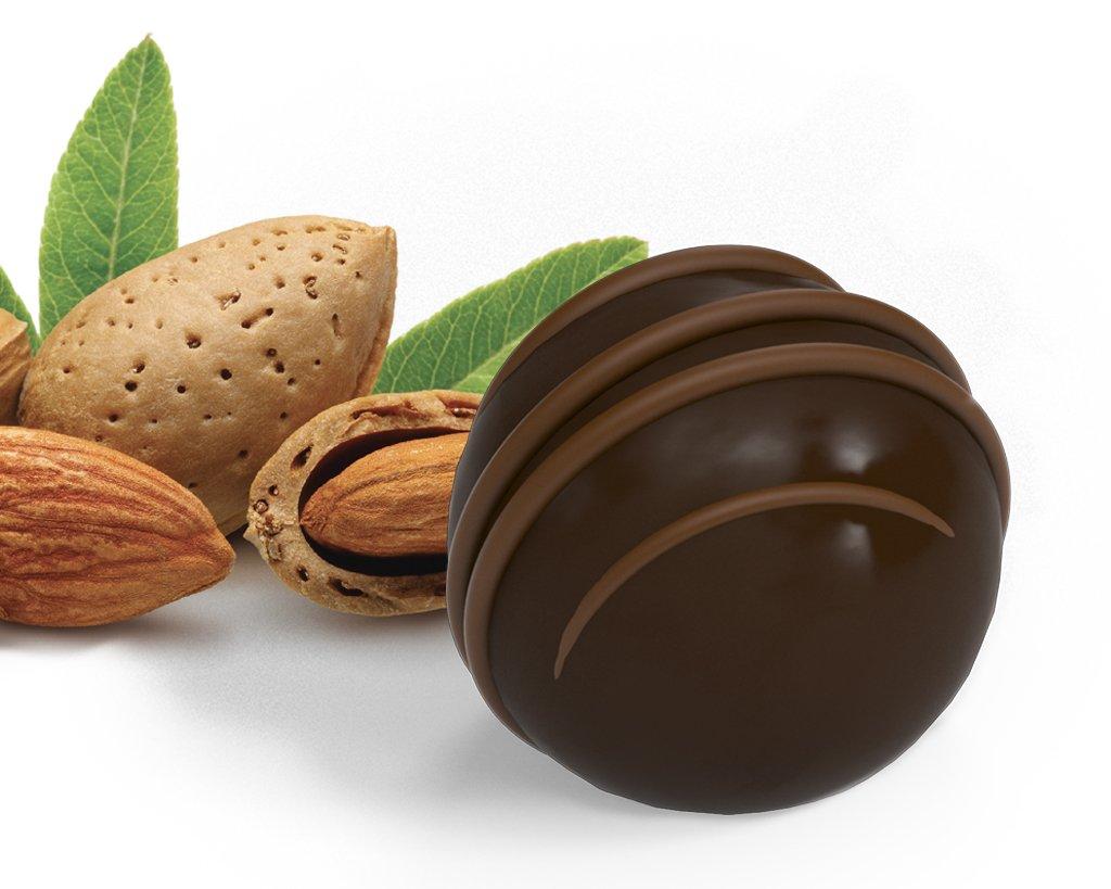 Boule mandorla fondente cioccolato pralina