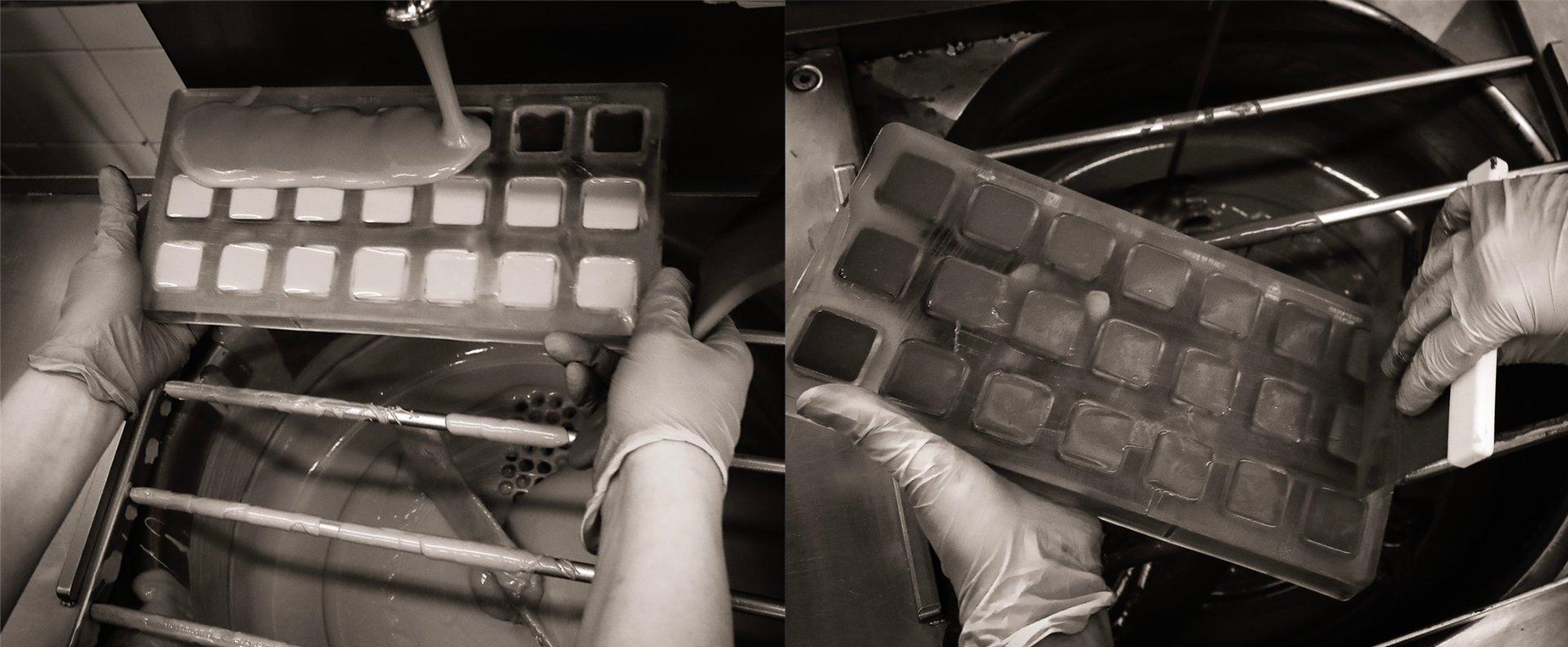 Lavorare il cioccolato con cura artigiana