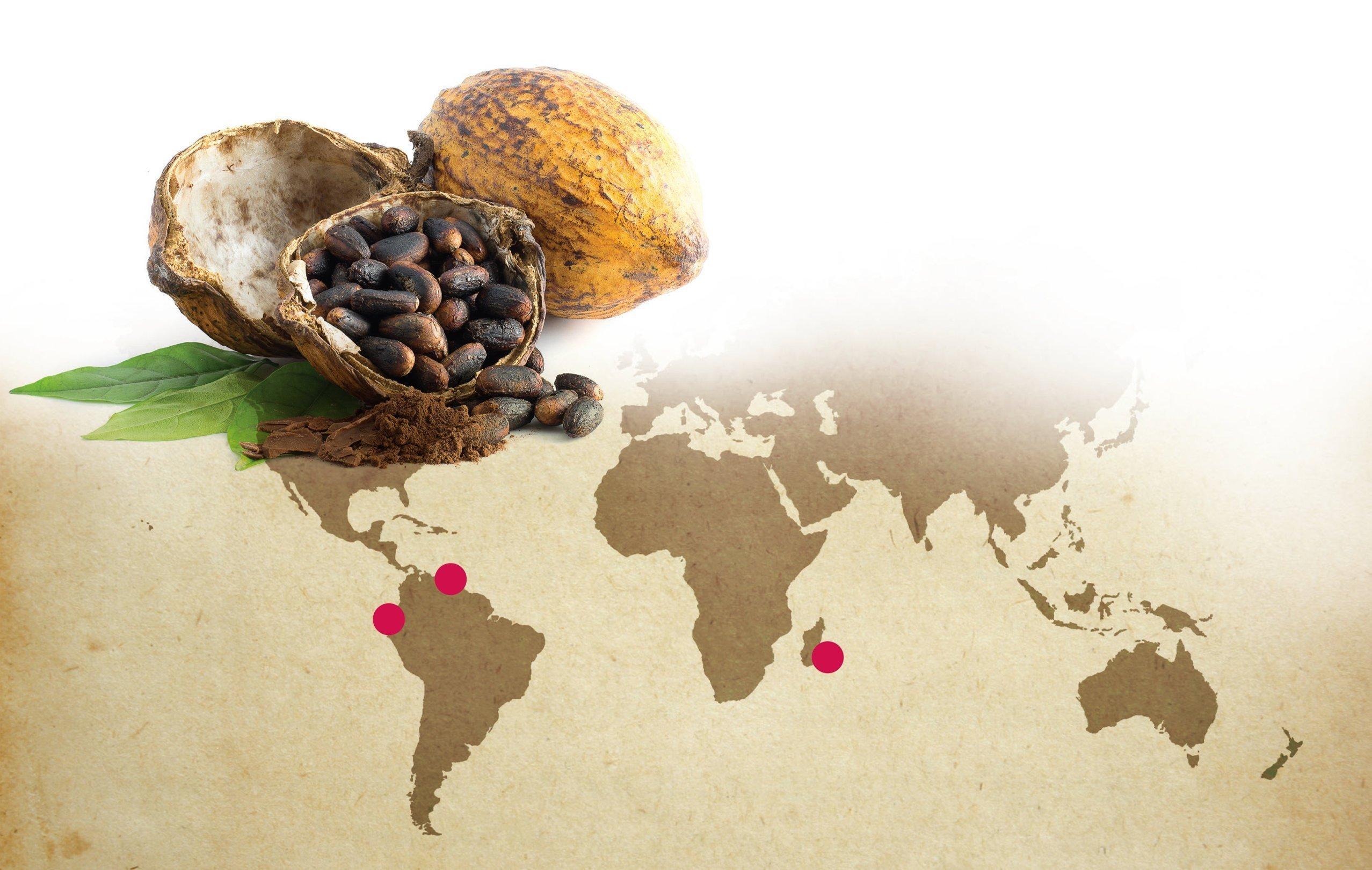 cioccolato cioccolatino origini